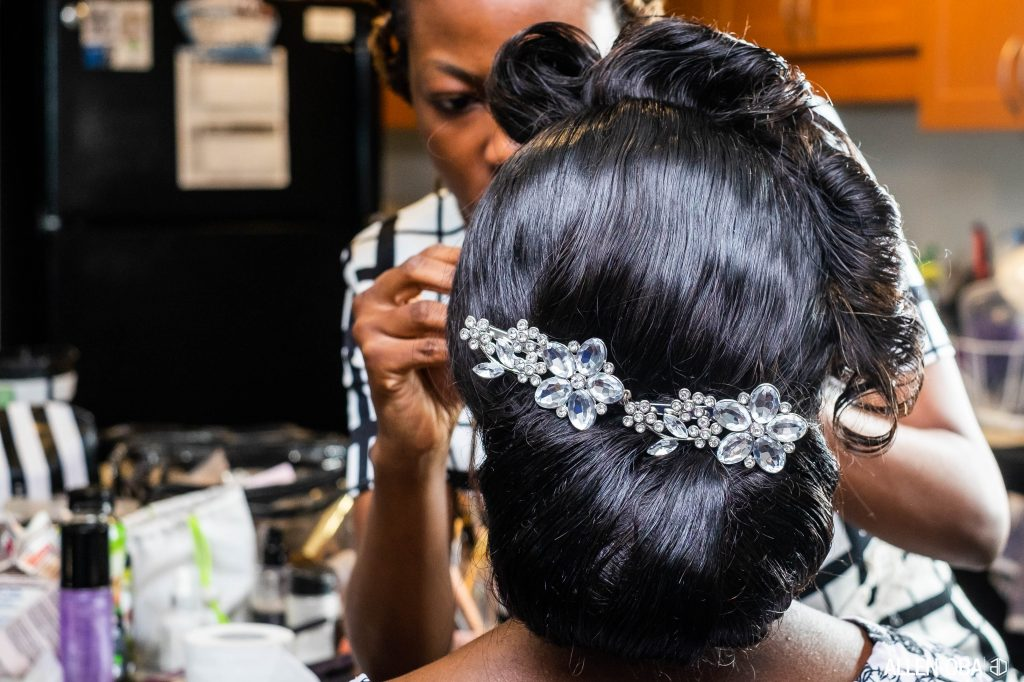 Wedding Hair - ALlen Oba Studios
